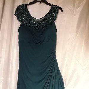 1c18f0e2a1e MSK Dresses - MSK Women s Embellished Cap Sleeve Chiffon Dress